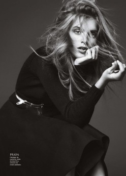 Mirte Maas for Harper's Bazaar Spain October 2013
