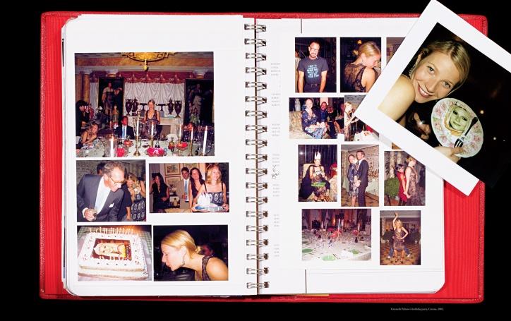 Gwyneth Paltrow's brithday party, Cetona, 2002