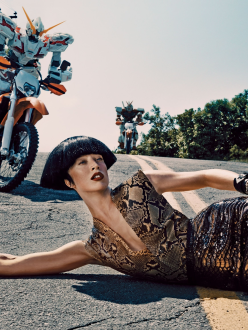 Raquel Zimmermann for Vogue US November 2013-Out Of This World