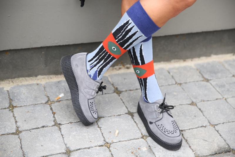 Kenzo brothel creepers and socks