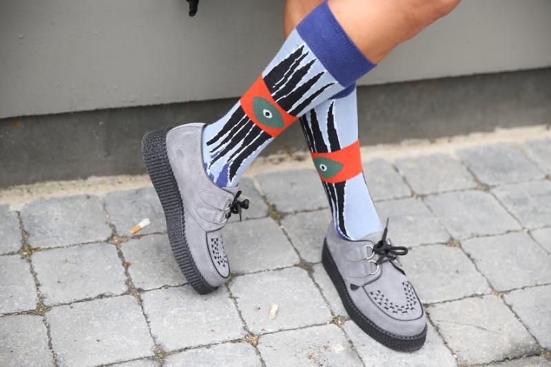 Kenzo brothel creepers and socks