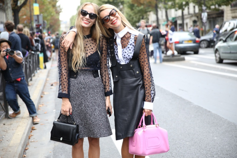 Street looks at Paris Fashion Week: Day 6