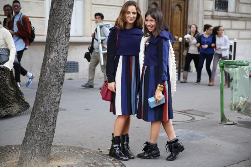 Street looks at Paris Fashion Week: Day 6
