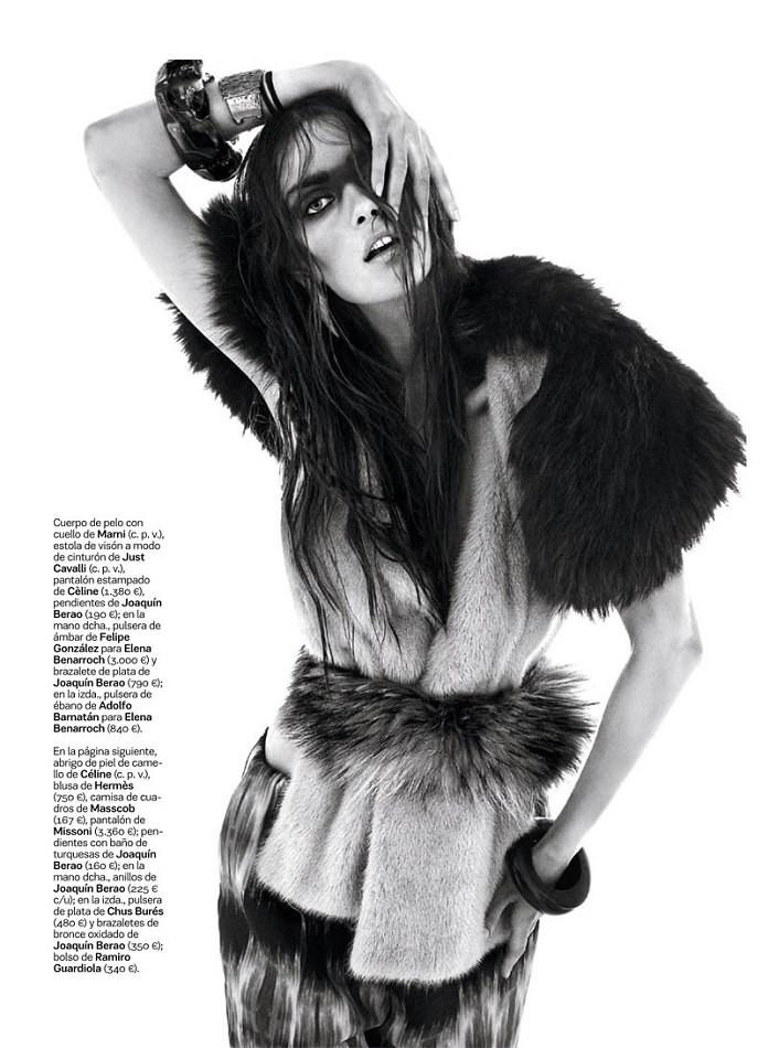 Maria Palm for S Moda for El Pais October 2013-Clan Nomada