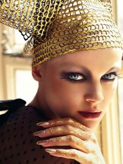 Viktoriya Sasonkina for Vogue Italia October 2013