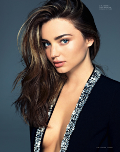 Miranda Kerr for Elle Japan December 2013
