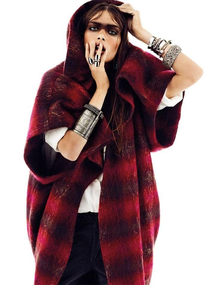 Maria Palm for S Moda for El Pais October 2013-Clan Nomada