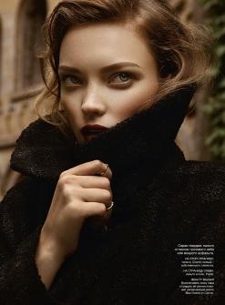 Naty Chabanenko for Harper's Bazaar Ukraine November 2013-Only Connect