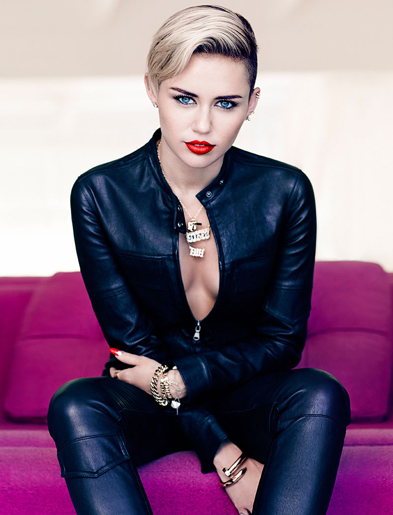 Miley Cyrus for Canada's Fashion Magazine November 2013