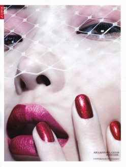 Sung Hee for Vogue China November 2013-New Hollywood