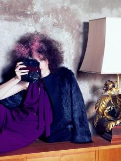 Lisa Verberght for L'Officiel Netherlands October/November 2013-Glam Rock