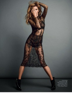 Gisele Bundchen by Inez And Vinoodh For Vogue Paris November 2013-Body Double