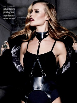 Behati Prinsloo for Vogue Mexico November 2013-Diva Noir