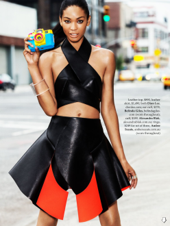 Chanel Iman for Elle Australia October 2013-Urban Renewal