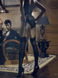 Kelly, Mariette, Nidhi, Natalia And Renya for Vogue India October 2013-Dangerous Liaisons