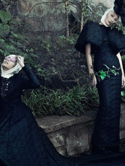 Ladies In Waiting by An Le For Noi.Se Fall/Winter 2013 Issue