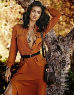 Irina Shayk for Vogue Spain November 2013-Corazon Salvaje