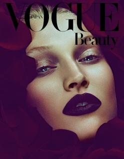 Toni Garrn for Vogue Japan December 2013