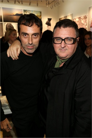 Giambattista Valli and Alber Elbaz