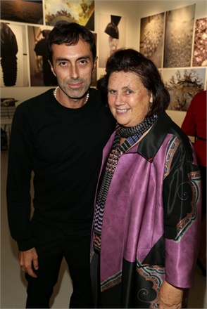 Giambattista Valli and Suzy Menkes