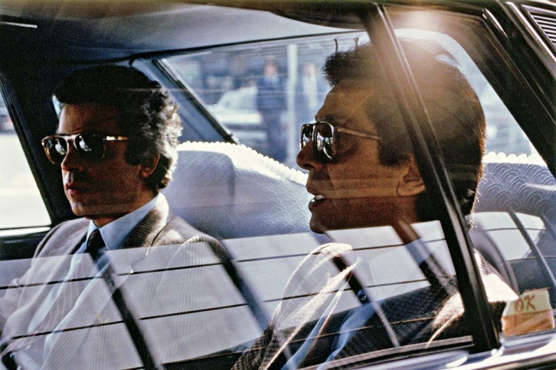 "Giancarlo Giammetti and Valentino in an image from ""Private- Giancarlo Giammetti."""