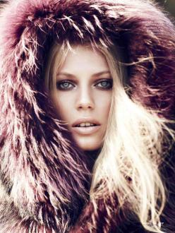 Lisette Van Den Brand for Elle Russia November 2013
