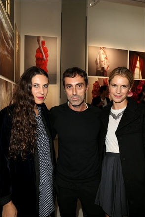 Tatiana Santo Domingo, Giambattista Valli and Eugénie Niarcho