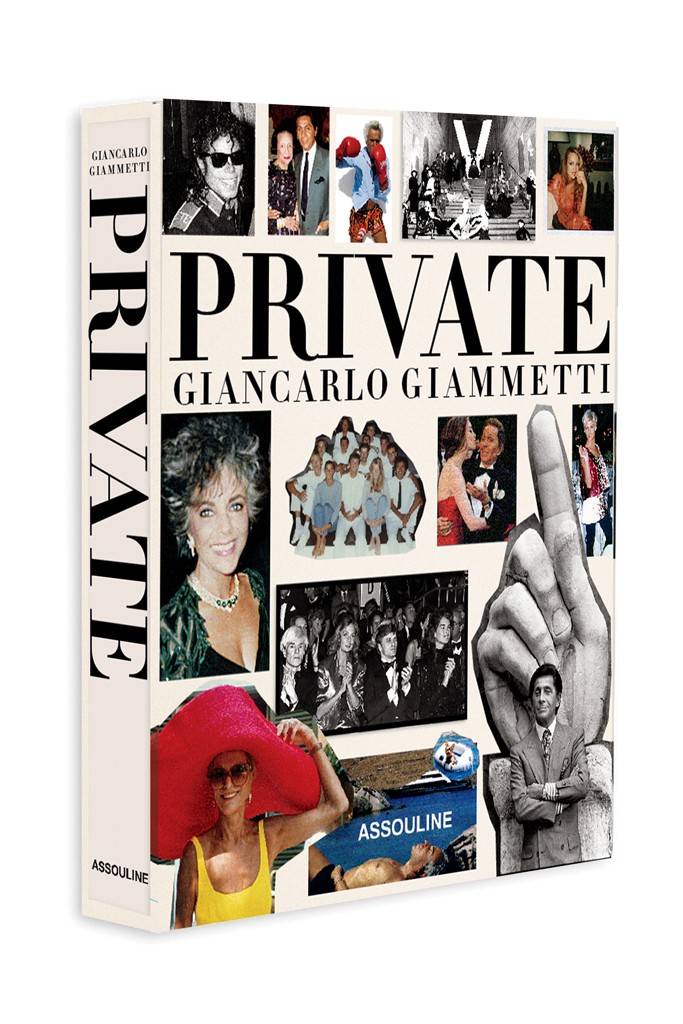 "The cover of ""Private- Giancarlo Giammetti."""