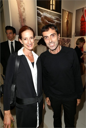 Vanessa Friedman and Giambattista Valli