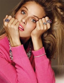 Inguna Butane for Vogue Joyas Spain December 2013-Calidas Piedras A Todo Color