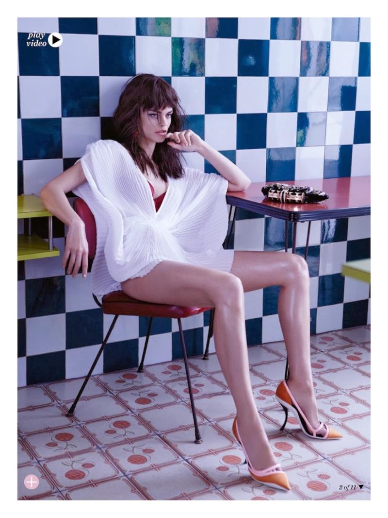Liah Cecchellero for Marie Claire Australia December 2013-The Art Of Seduction