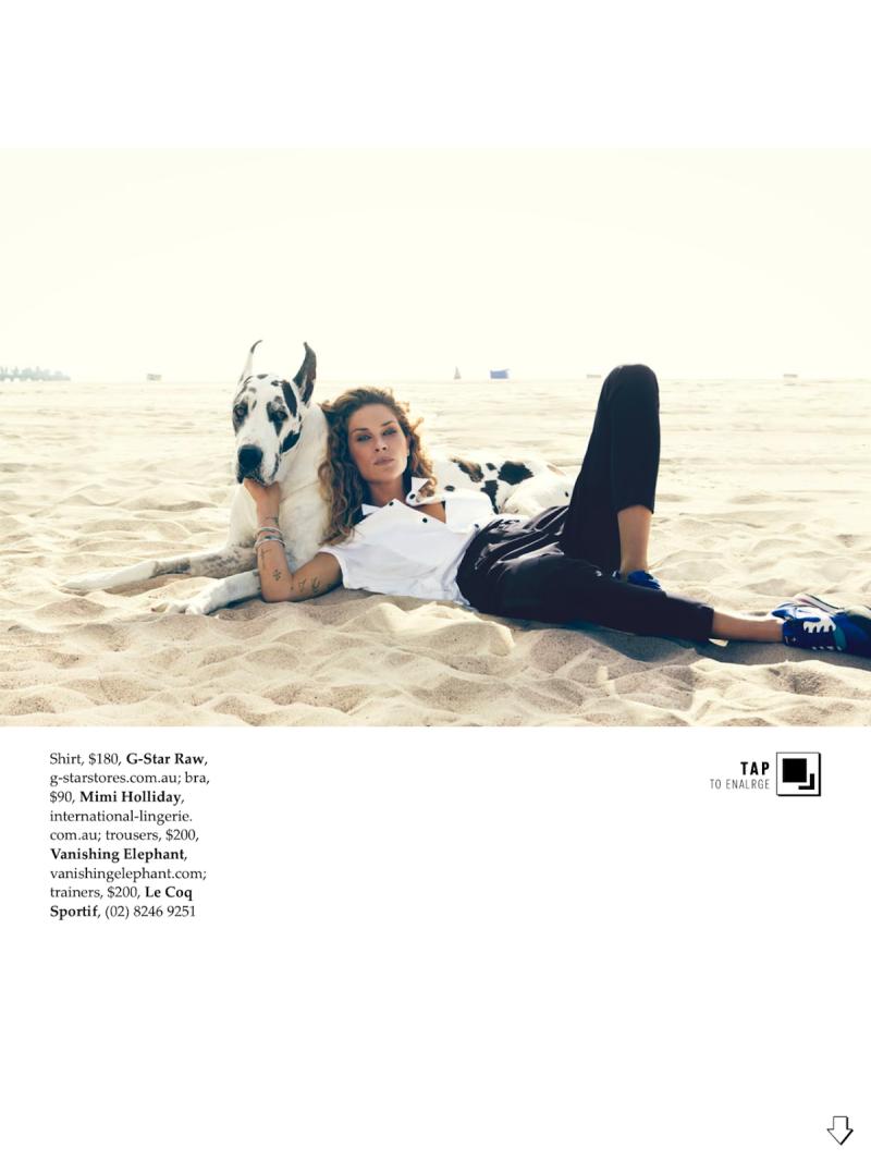 Erin Wasson for Elle Australia December 2013-All About Erin