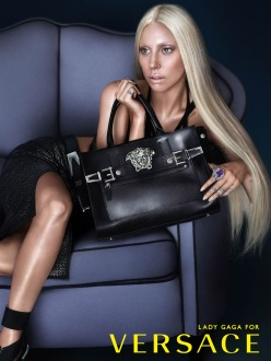 Lady Gaga for Versace Spring 2014 Campai