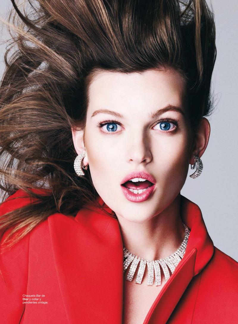 Bette Franke for Harper's Bazaar Spain December 2013