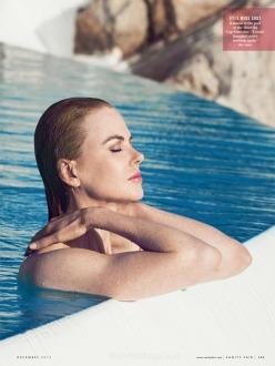 Nicole Kidman for Vanity Fair December 2013