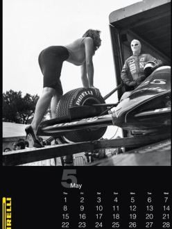The Pirelli calendar 2014 by Helmut Newton