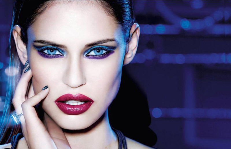 Bianca Balti for L'Oreal Makeup Line for Christmas 2013