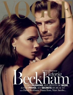 Victoria and David Beckham for Vogue Paris December 2013/January 2014