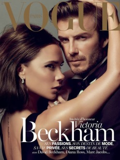 Victoria and David Beckham for Vogue Paris December 2013/January 2014