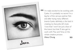 Alexa Chung-The New Face And Creative At Eyeko London