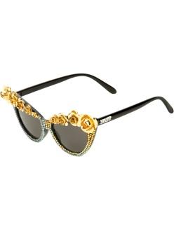 A-MORIR Embellished sunglasses, $457