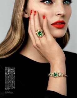 Ymre Stiekema for Vogue Japan December 2013-The Original Treasures