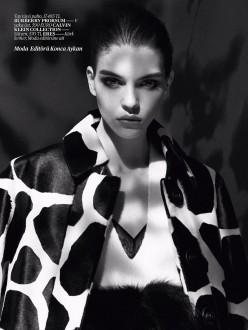 Kate Bogucharskaia for Vogue Turkey November 2013