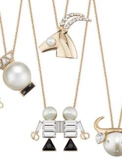 From left to right: Libra, Aquarius, Gemini, Aries, Taurus and Pisces