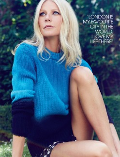 Gwyneth Paltrow for RED Magazine December 2013