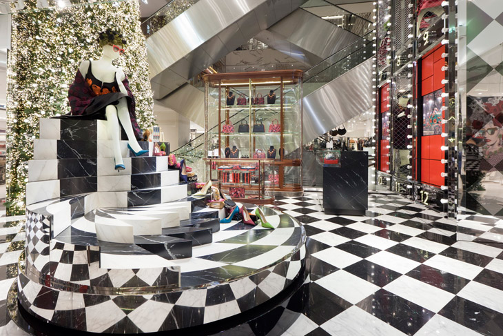 Noël, Joyeuse Obsession by Prada for Printemps Department Store