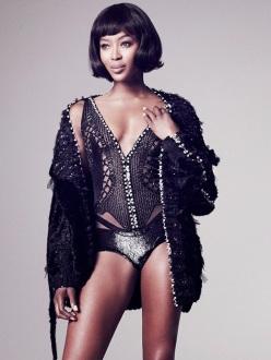 Naomi Campbell for Vogue Thailand November 2013