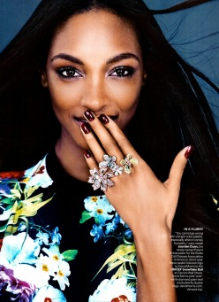 """Bling Rings""-Vogue US December 2013 Issue"