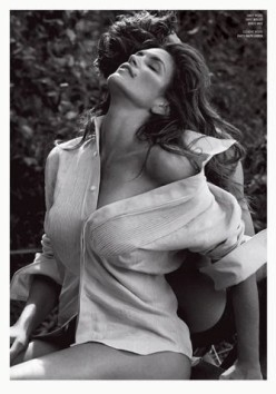 Cindy Crawford by Sebastian Faena for V Magazine Winter 2013.14