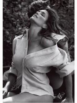 Cindy Crawford by Sebastian Faena for V Magazine Winter 2013.14